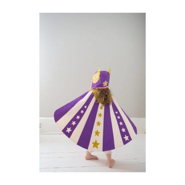 Flying Super Hero Hat, Purple