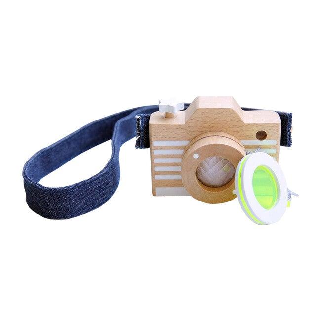 KIKO+ Wooden Camera, Yellow Lens
