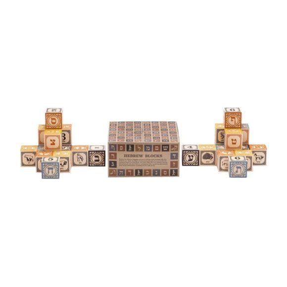 Hebrew Alef-bet Blocks