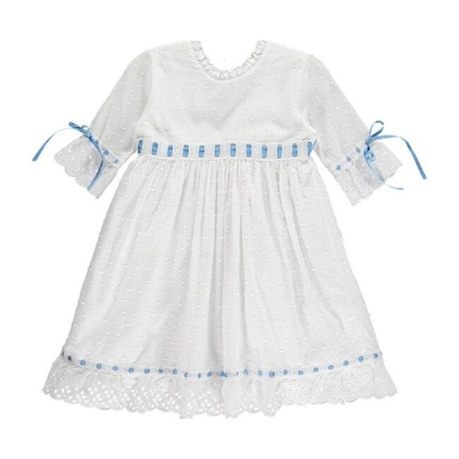 Riley Dress, Blue