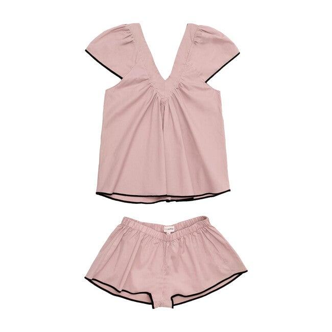 Women's Bianca Pajama Set, Dusty Pink
