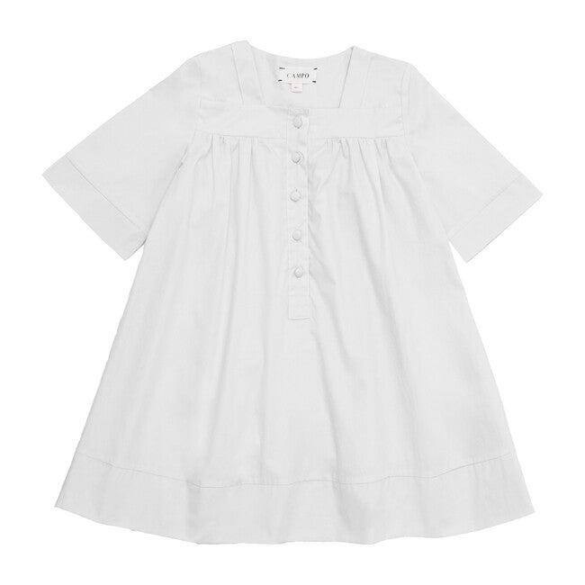 Vitoria Mini Dress, Milk