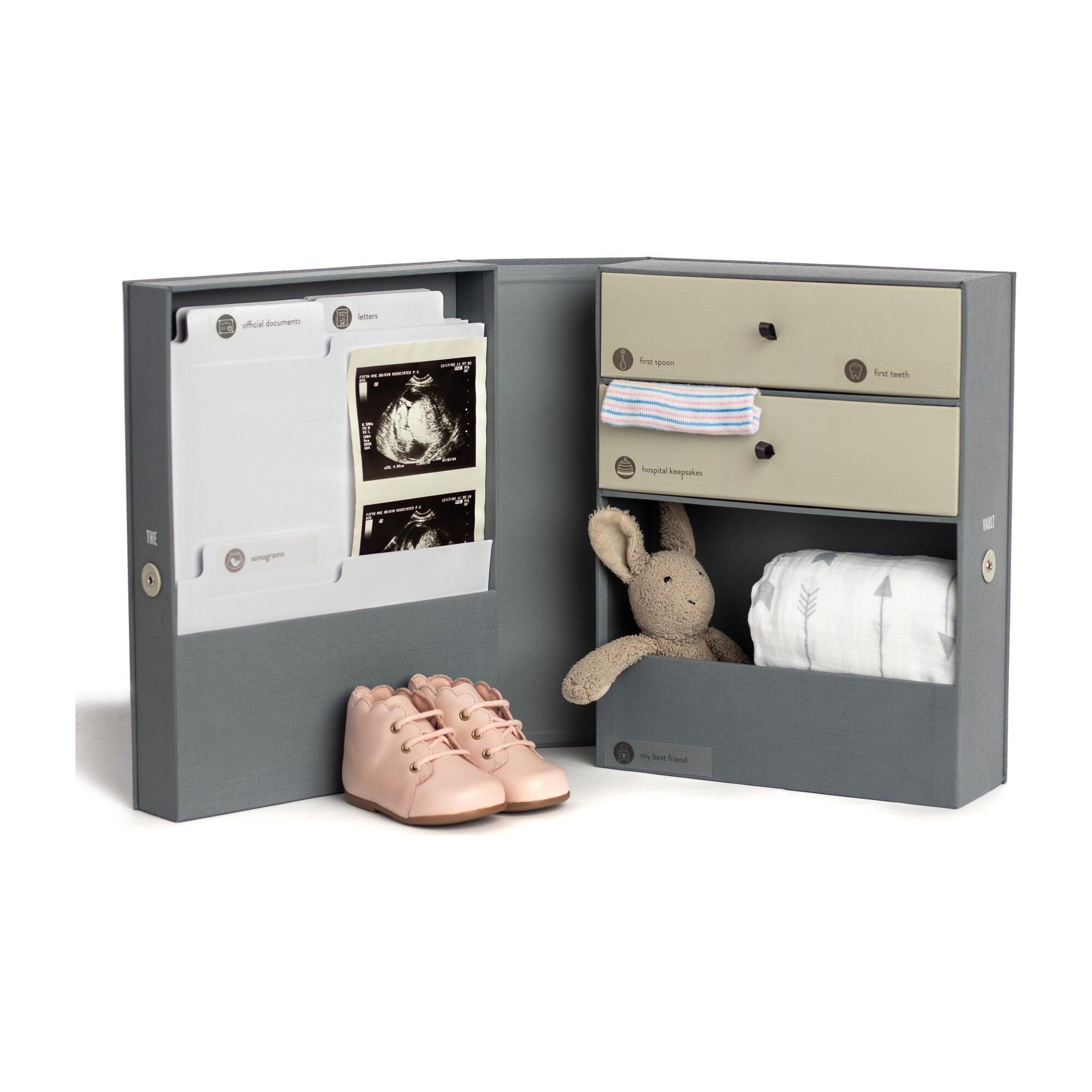 Vault Baby Keepsake Box, Slate
