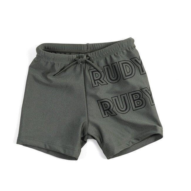 Carlos Swim Shorts, Rudy Ruby Green