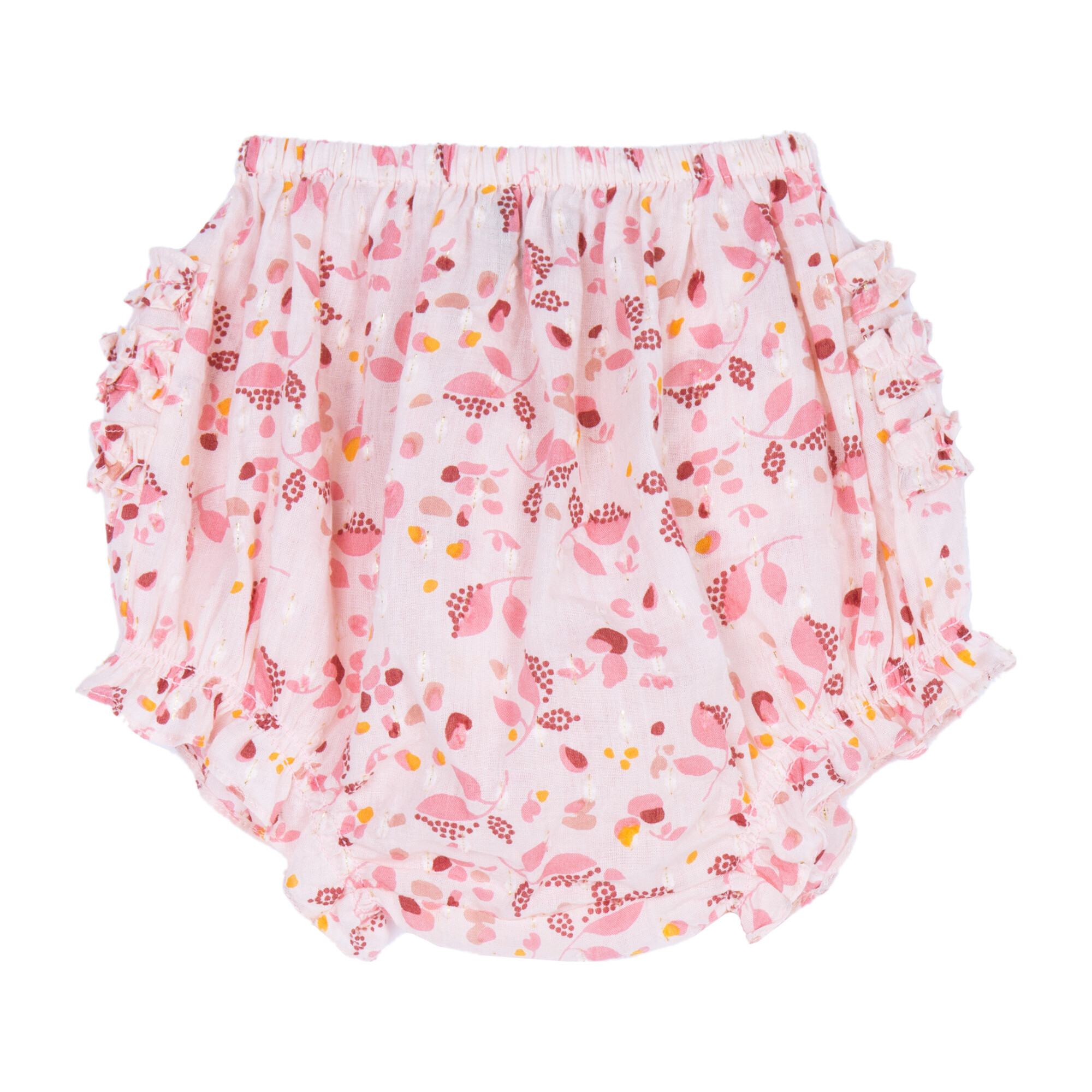 Cecily Bloomers, Putty Floral Lurex