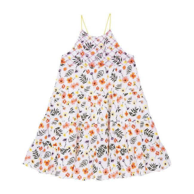 Lara Dress, Pressed Flowers