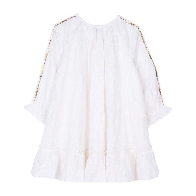 Frankie Dress, White Schiffli