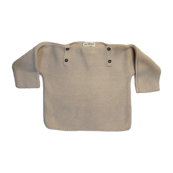 Pepe Knit Pullover, Natural