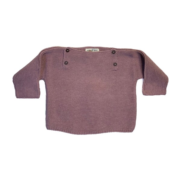 Pepe Knit Pullover, Blush