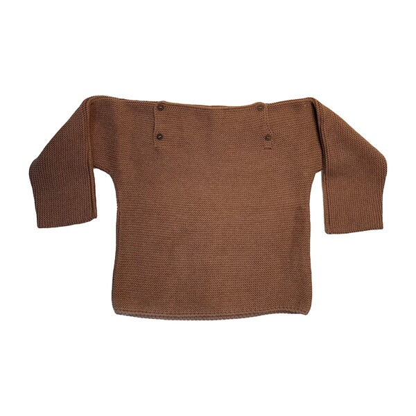 Pepe Knit Pullover, Camel
