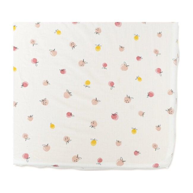Strawberry Fields Organic Cotton Crib Sheet