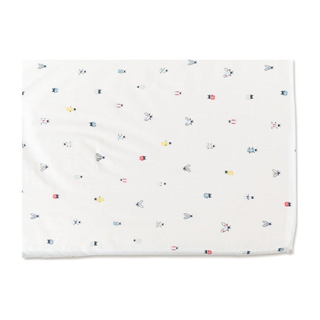 Love Bug Organic Cotton Crib Sheet