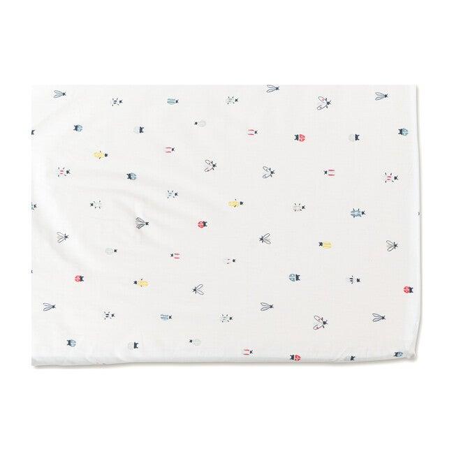 Love Bug Organic Cotton Crib Sheet - Crib Sheets - 1