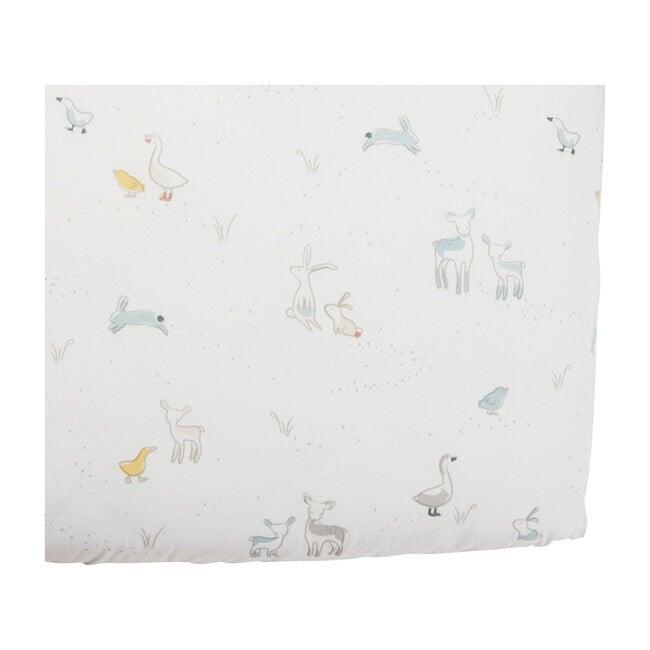 Just Hatched Organic Cotton Crib Sheet
