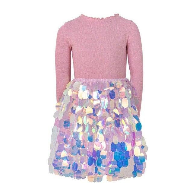 Paillette Magic Dress, Pink