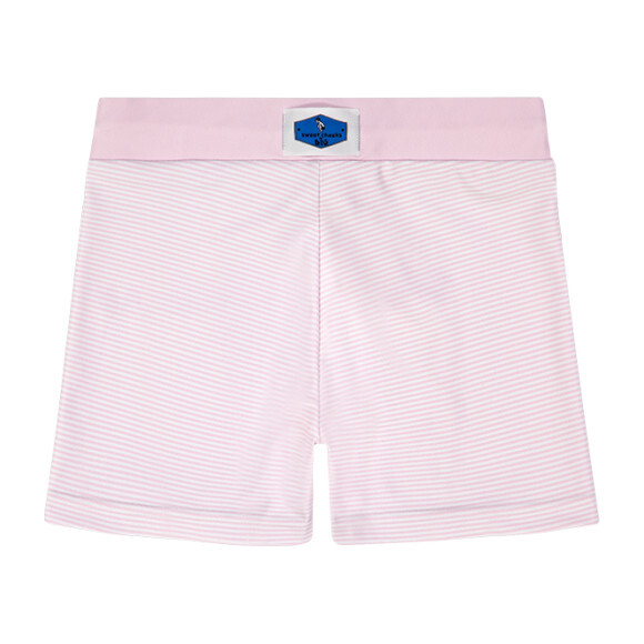 Nantucket Pink Stripe Swim Short
