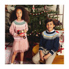 Anderson Fairisle Sweater, Dusty Rose Multi
