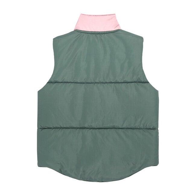 Adult Emery Color Blocked Vest, Pink Multi