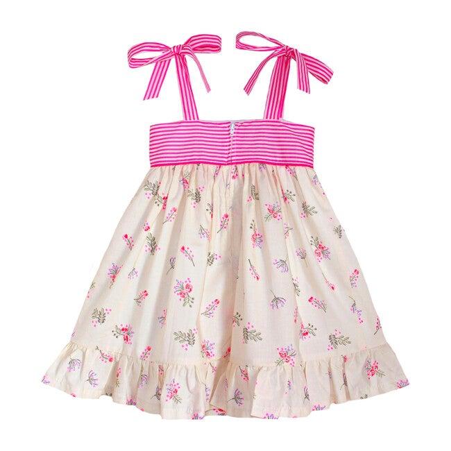 Neon Floral Party Dress