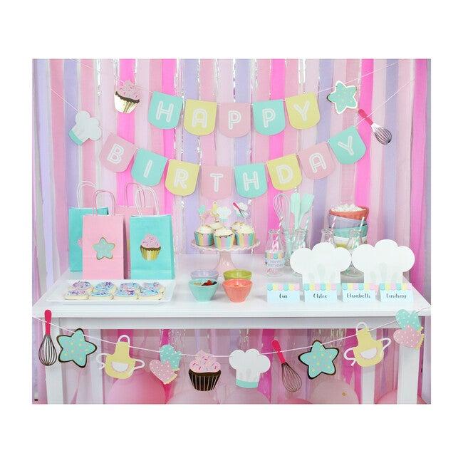 Little Bakers Birthday Banner