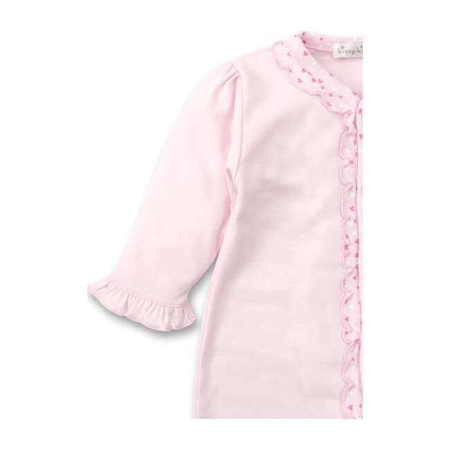 Sweethearts Ruffles Footie, Pink