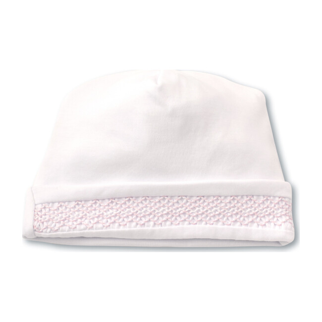 Charmed Hat, White & Pink