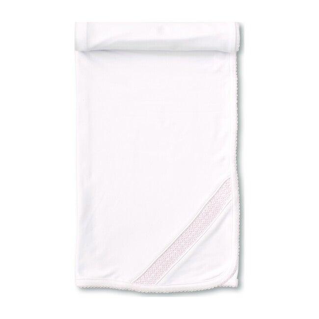 Charmed Blanket, White & Pink