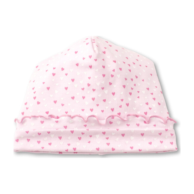 Sweethearts Hat, White & Pink
