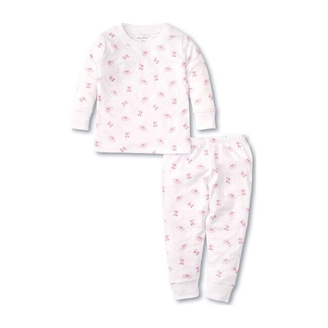 Ballet Slippers Infant Pajama Set, Pink