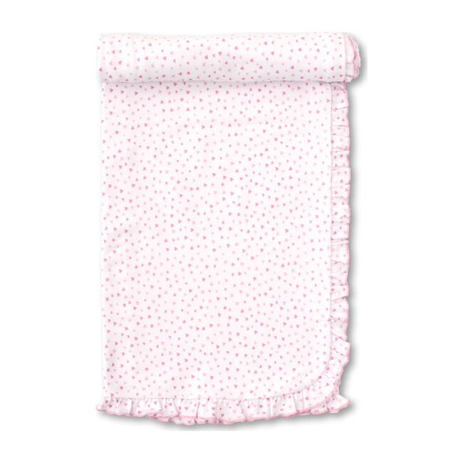 Sweethearts Blanket, White & Pink