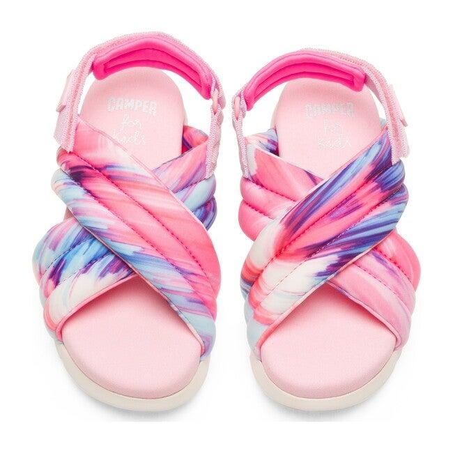 Oruga Sandal, Pink Multi