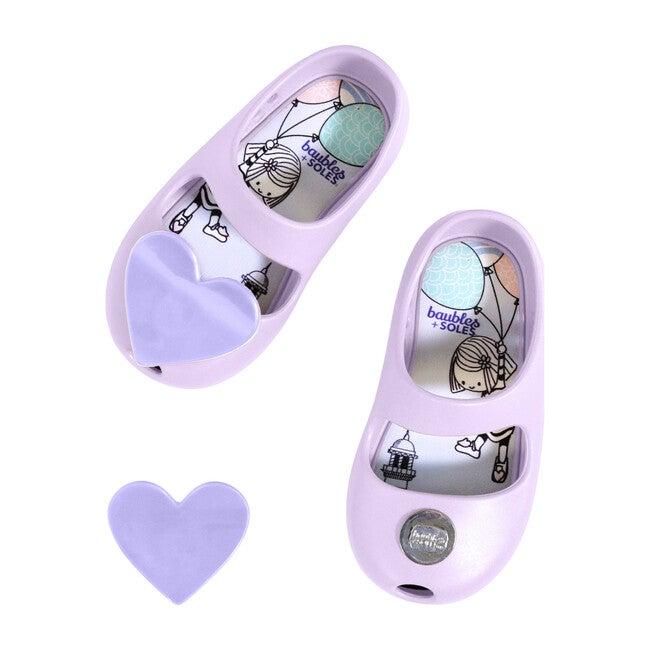 Kaia Shoe, Heather with Purple Heart