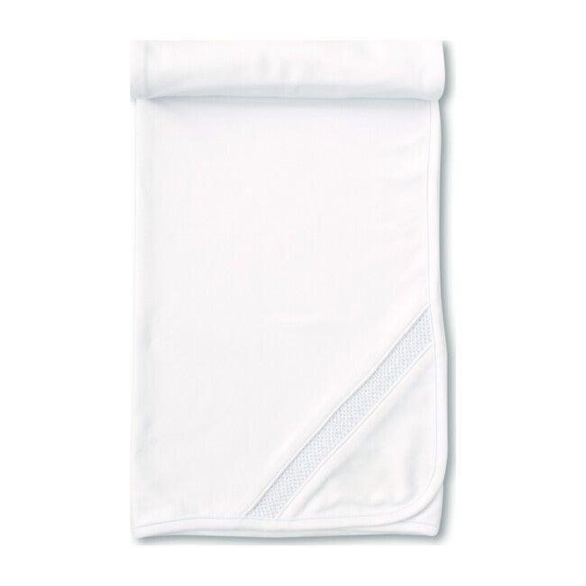 Charmed Blanket, White & Blue