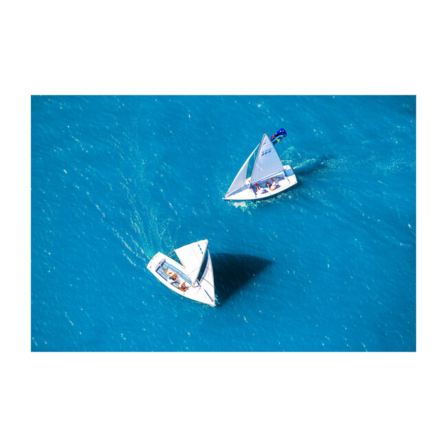 Two Sailboats, Newport Beach