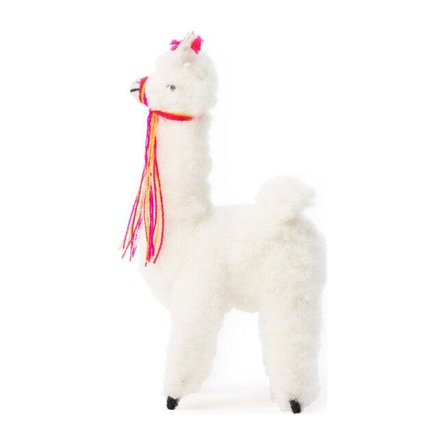 Alpaca Doll, White - Dolls - 1