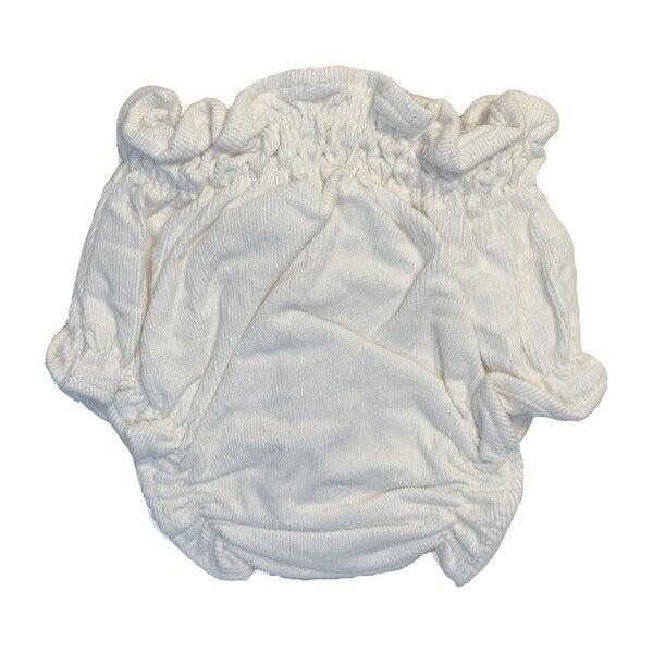 Bruno Corduroy Baby Bloomer, White