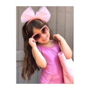 Bella Frame Sunglasses, Pink