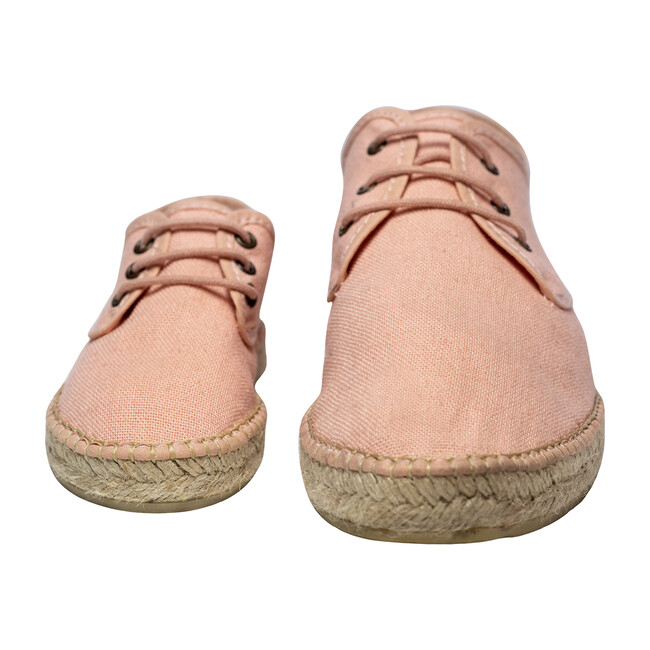 Adult Lace-up Espadrille, Pink