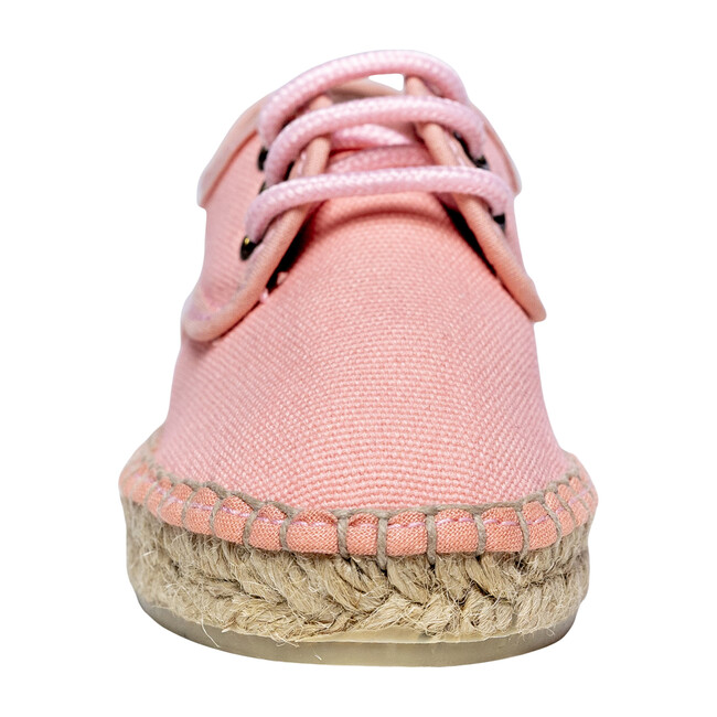 Lace-up Espadrille, Pink