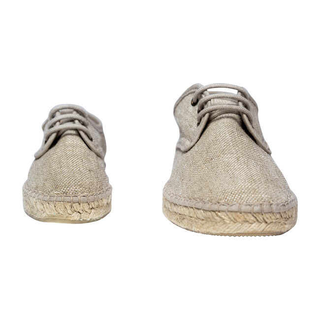 Adult Lace-up Espadrille, Natural