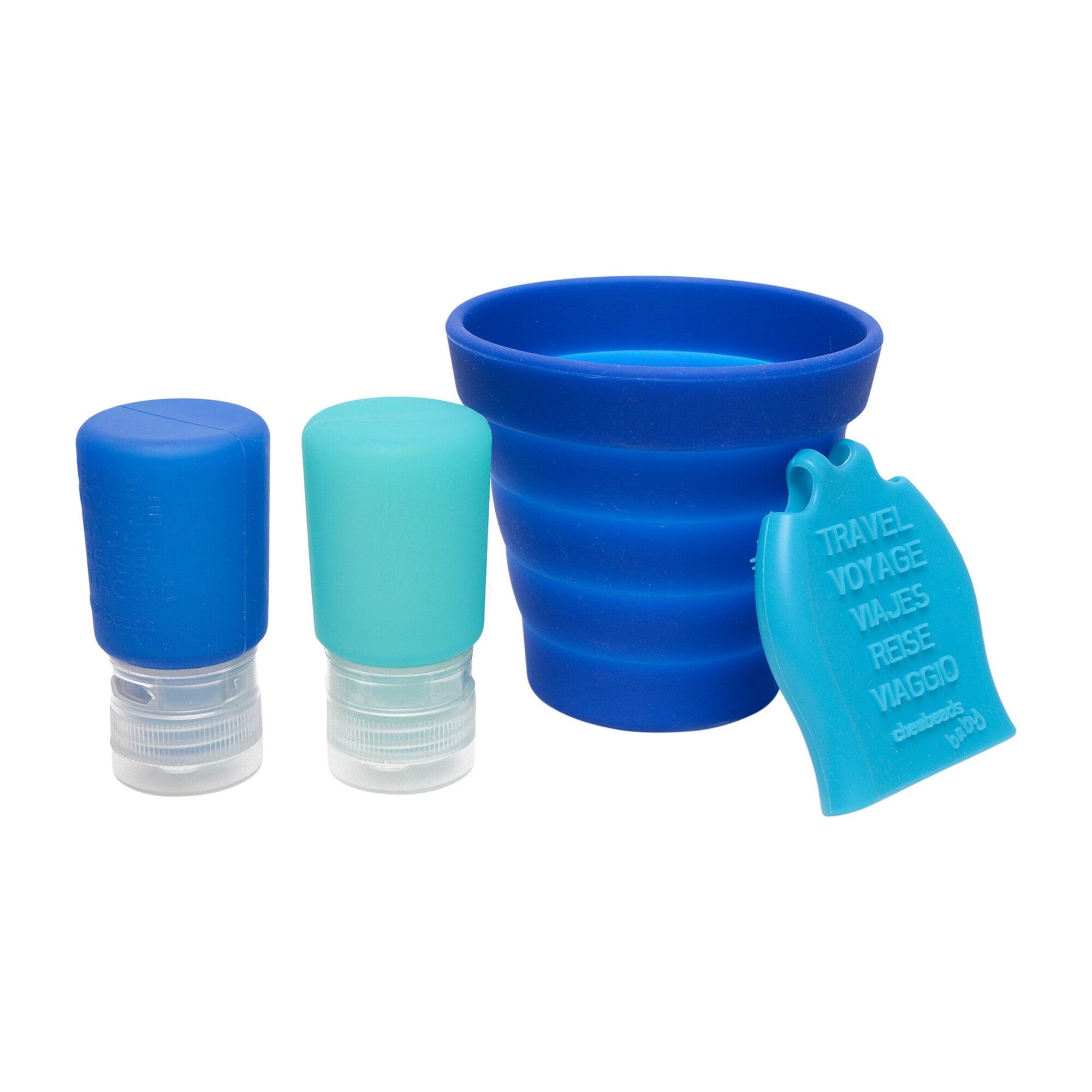 Tubby To Go Travel Bath Set, Blue