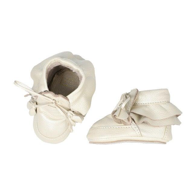 Victoria Booties, Metallic Seashell