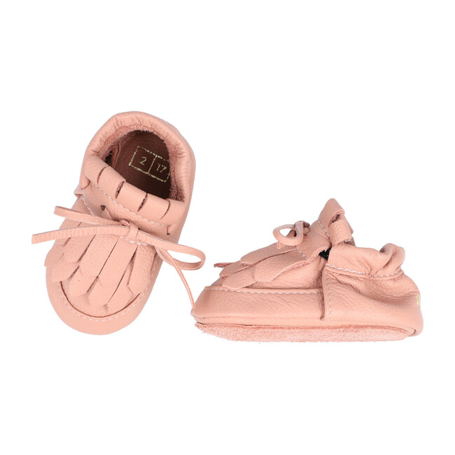 Loafer Lace-up Moccasin, Rose Dawn
