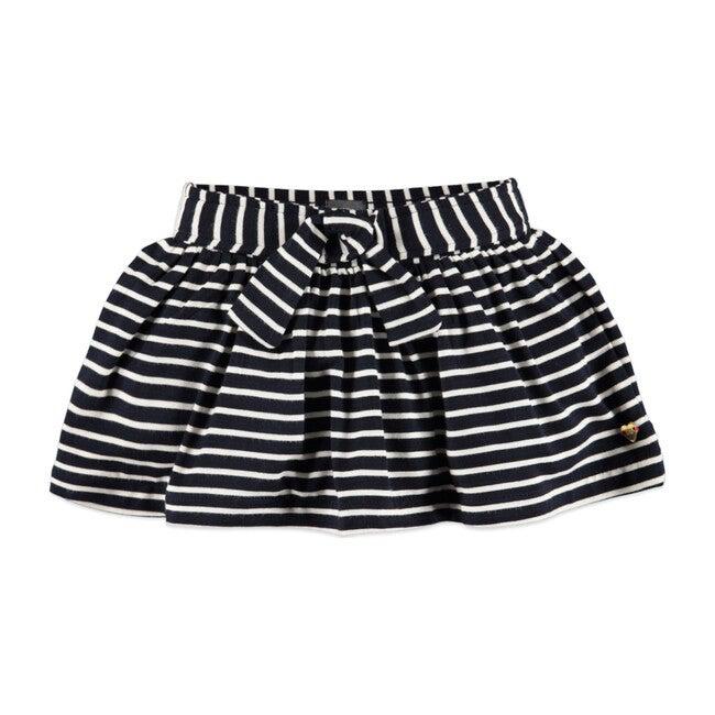 Striped Skirt, Blue Navy