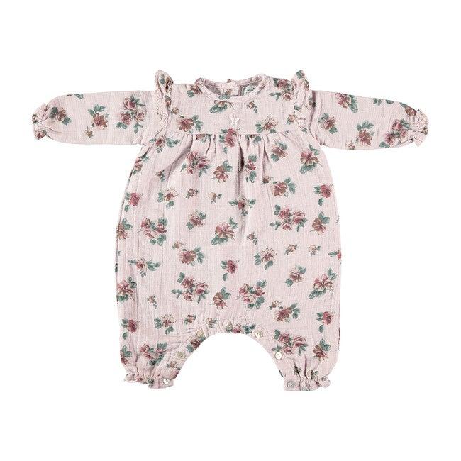 Baby Romper, Flower Print