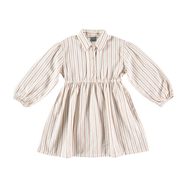 Girls Striped Shirt Dress