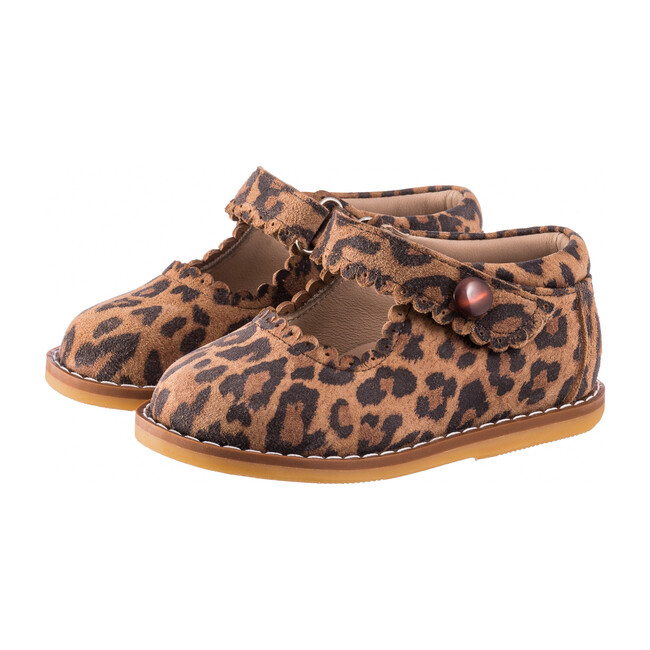 *Exclusive* Toddler Mary Jane, Leopard