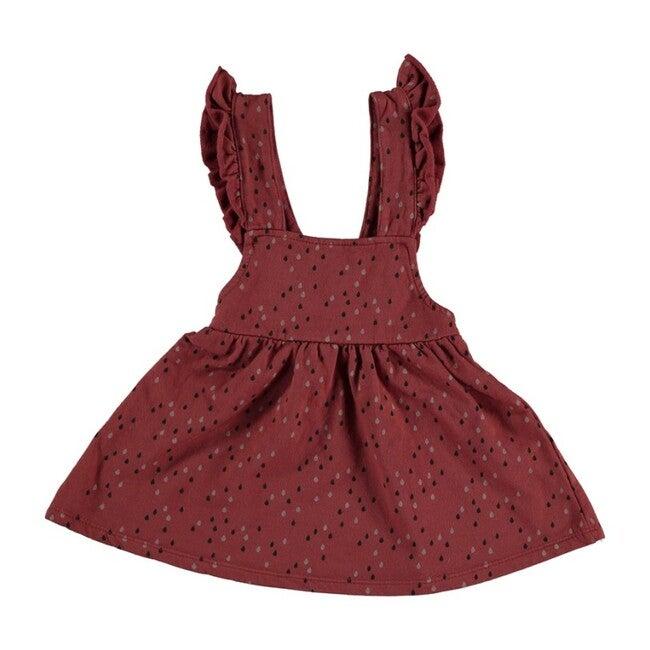 Ruffle Sleeve Dress, Tile