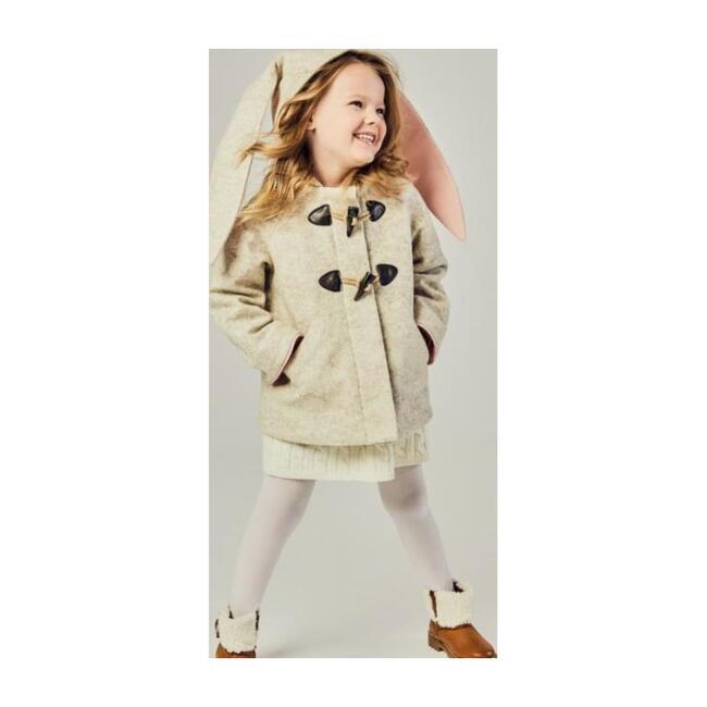 Snow Shoe Rabbit Coat, Oatmeal