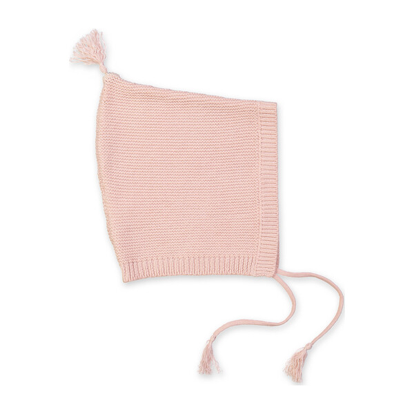 Sabin Knitted Baby Hat, Dusty Pink